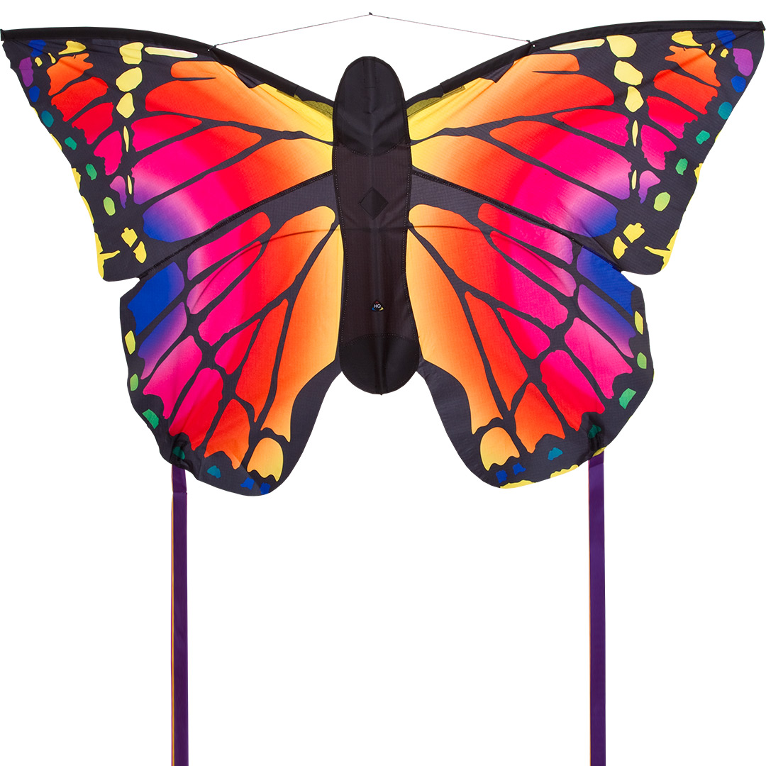 HQ Kites Swallowtail Blue R Butterfly Kite